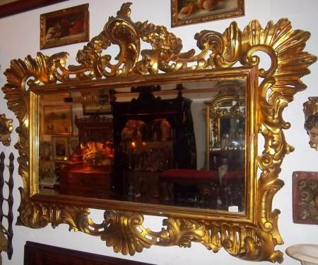 Antiguedades y arte siglo xx jfernandezantic espejos y for Espejos grandes con marco